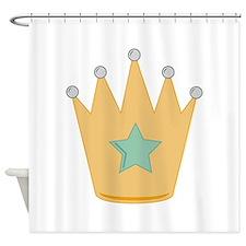 Royal Crown Shower Curtain