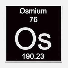 76. Osmium Tile Coaster