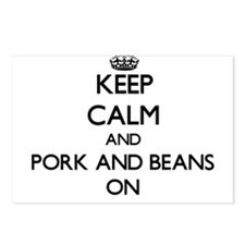 Keep Calm and Pork And Be Postcards (Package of 8)