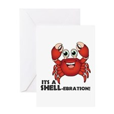 A Shell-ebration Greeting Cards