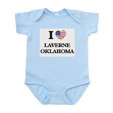 I love Laverne Oklahoma Body Suit