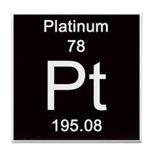 78. Platinum Tile Coaster