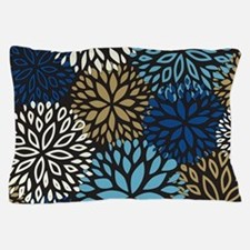 Vintage Floral Pattern Pillow Case