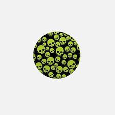 Cute Skulls Mini Button