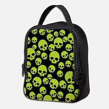 Funny Skulls Neoprene Lunch Bag