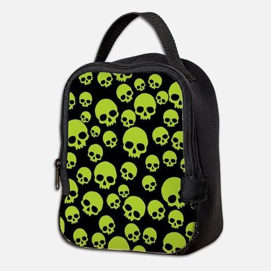 Unique Skull Neoprene Lunch Bag