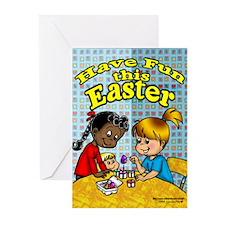 Easter Egg Greeting Cards (Pk of 10)