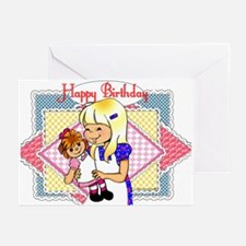 Gingham Greeting Cards (Pk of 10)