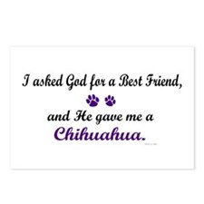 God Gave Me A Chihuahua Postcards (Package of 8)