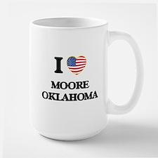 I love Moore Oklahoma Mugs