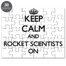 Keep Calm and Rocket Scientists ON Puzzle