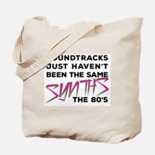 80's Synths Tote Bag