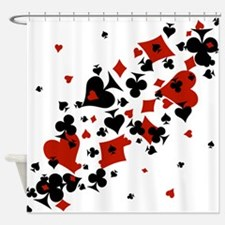 Unique Poker Shower Curtain