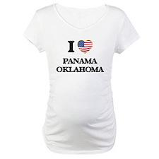 I love Panama Oklahoma Shirt