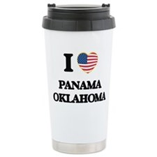 I love Panama Oklahoma Travel Mug