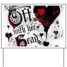 Cute Red heart Yard Sign