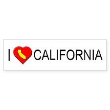 I love California Bumper Bumper Sticker