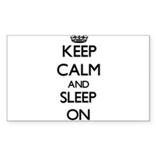 Keep Calm and Sleep ON Decal