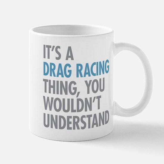Drag Racing Thing Mugs