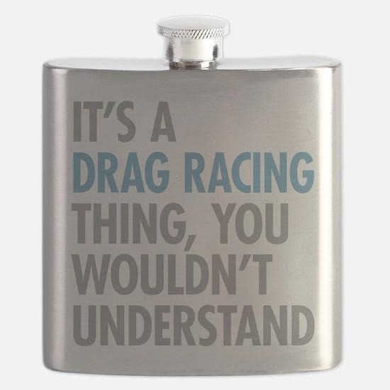 Drag Racing Thing Flask