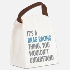 Drag Racing Thing Canvas Lunch Bag