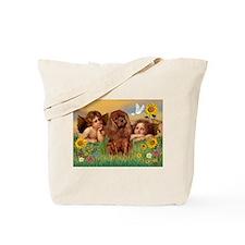 Angels & Ruby Cavalier Tote Bag