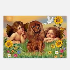 Angels & Ruby Cavalier Postcards (Package of 8)