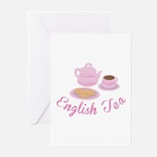 English Tea Greeting Cards