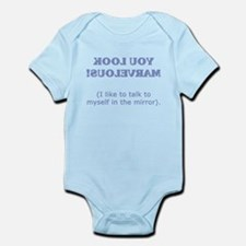 You Look Marvelous! Mirror im Infant Bodysuit