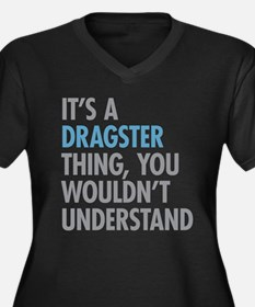 Dragster Thing Plus Size T-Shirt