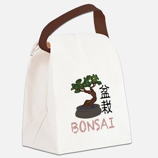 Bonsai Bonsai Canvas Lunch Bag