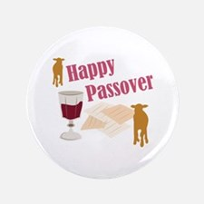 Happy Passover Button