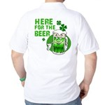Here For The Beer! Golf Shirt