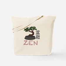 Bonsai Zen Tote Bag