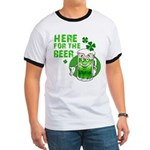 Here For The Beer! Ringer T