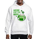 Here For The Beer! Hooded Sweatshirt