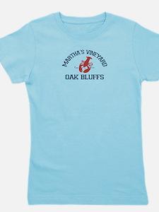 Oak Bluffs - Martha's Vineyards. Girl's Tee