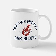 Oak Bluffs - Martha's Vineyards. Mug Mugs