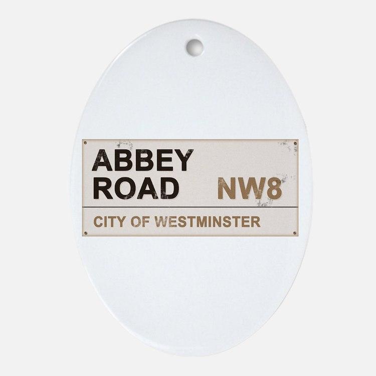 Abbey Road LONDON Pro Ornament (Oval)