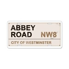 Abbey Road LONDON Pro Aluminum License Plate