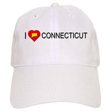 I love Connecticut Baseball Cap