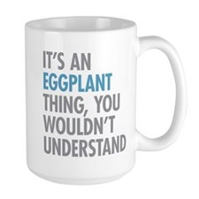 Eggplant Thing Mugs