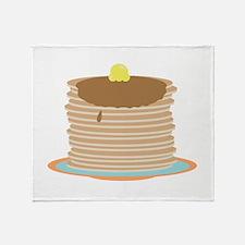 Pancakes Throw Blanket