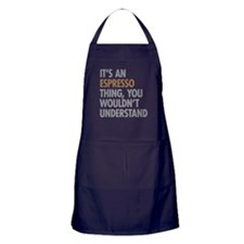 Espresso Thing Apron (dark)