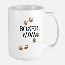 Boxer Mom Large Mug
