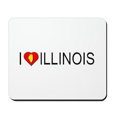 I love Illinois Mousepad