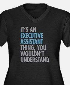 Executive Assistant Thing Plus Size T-Shirt