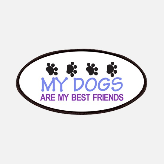 Dogs Best Friends Patch