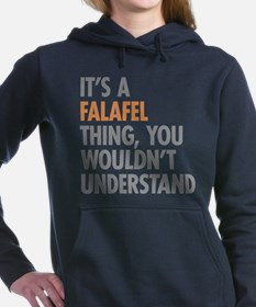 Falafel Thing Women's Hooded Sweatshirt