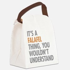 Falafel Thing Canvas Lunch Bag